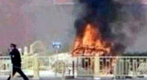 Cina: auto in fiamme a Tiananmen, almeno 5 morti