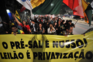 BRAZIL-OIL-STRIKE-PROTEST
