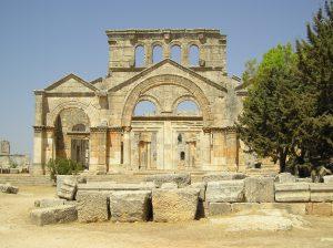 la cattedrale di San Simeone lo stilita. IV secolo.