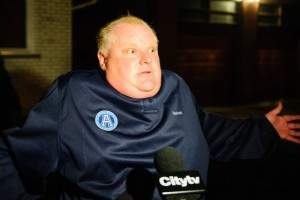 il sindaco di Toronto Rob Ford