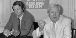 Jean-Pierre Stirbois e Jean-Marie Le Pen