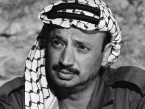 Yasser Arafat leader del O.L.P.