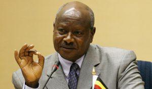 Il premier dell'Uganda Museveni