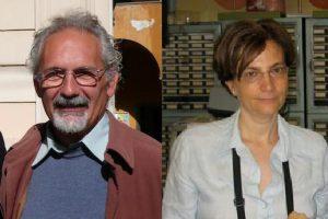 Enrica Santarcangelo e Silvano Presciuttini