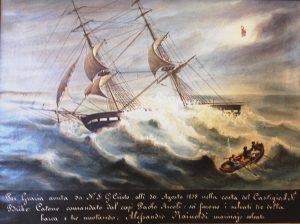 Ex voto marinaro Catone