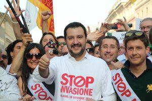 Matteo Salvini e immigrazione