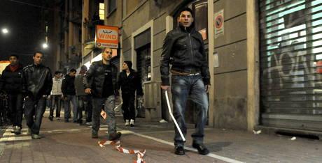 Immigrazione rivolta Milano