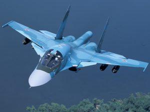 Sukhoi_Su_34_Russian_34_export_Su_32_NATO_Fullback_Russian_twin_seat_fighter_bomber_India_China_Iran_Syria