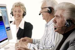 anziani al lavoro