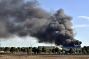 TWO DEAD PILOTS AFTER A GREEK F-16 GRIEGO CRASHES AT ALBACETE BASE