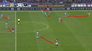 pressing Lazio