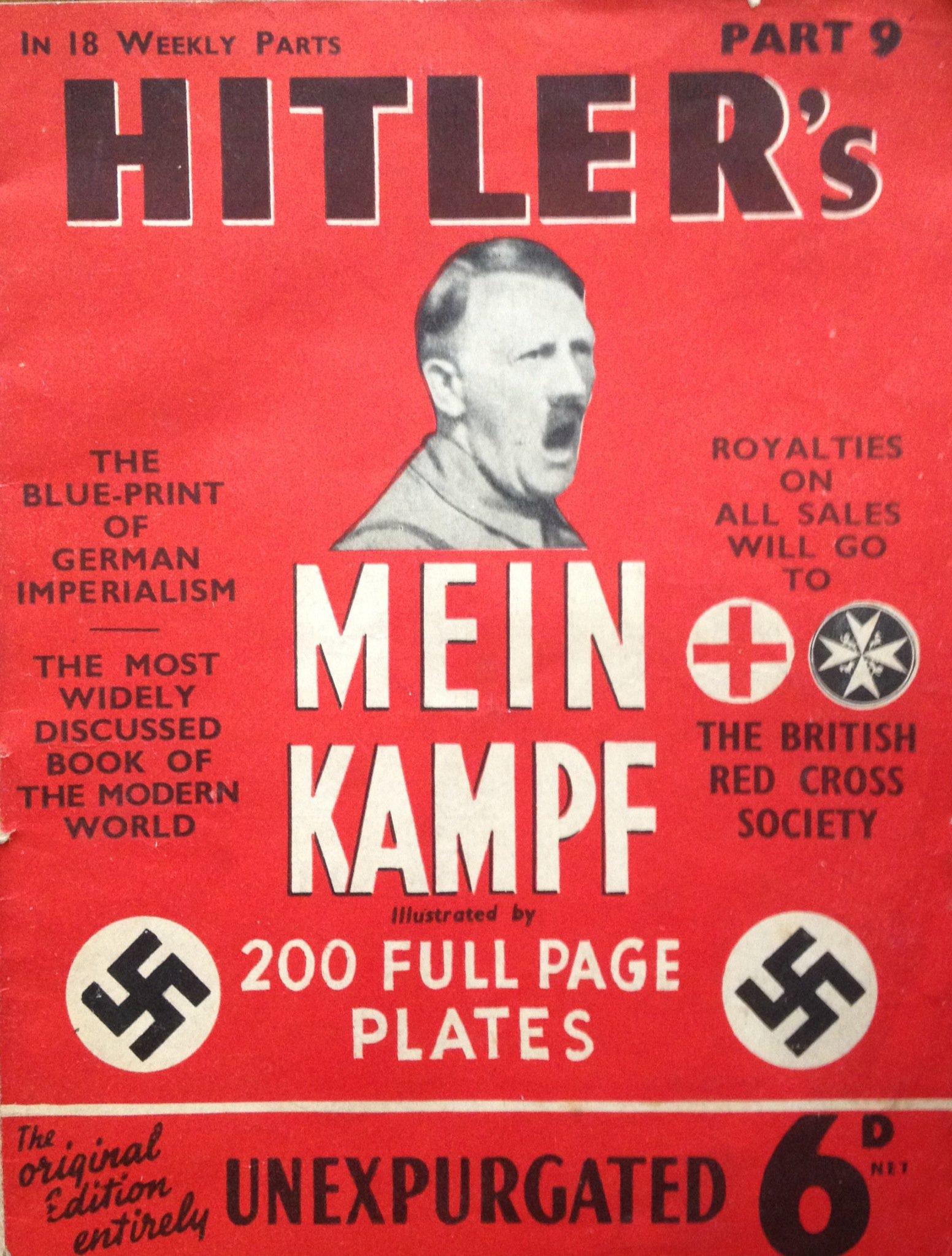 Ristampa Del Mein Kampf Di Adolf Hitler In Germania