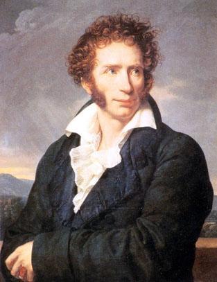 Ugo Foscolo portrait
