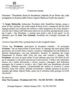 lettera presidente