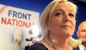 Marine-Le-Pen-Leader-partito-politico-Front-National