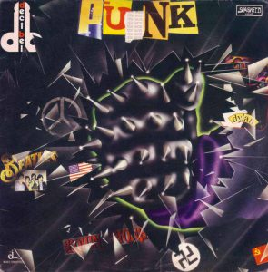 "Copertina dell'esordio ""Punk"" (1977)"