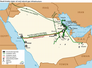 Saudi-oil-gas-infrastructure-map