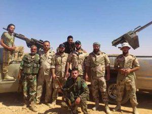 esercito siriano palmira