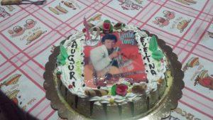 Little Tony al posto di Little Pony sulla torta di compleanno