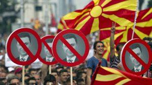 macedonia-antigov unrest