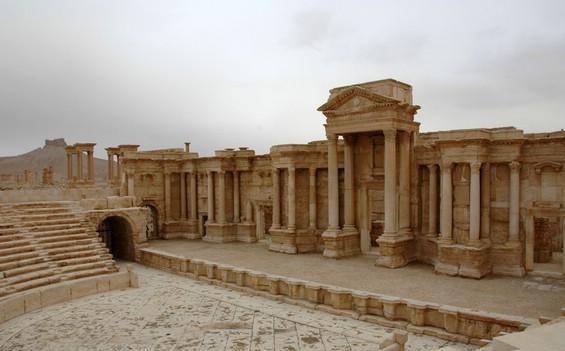 isis minaccia il sito archeologico di palmira in siria