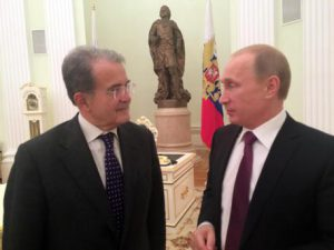 Ucraina: Prodi a Putin, usiamo insieme i gasdotti di Kiev