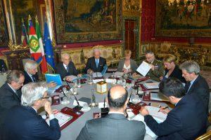 La-riunione-del-Consiglio-Supremo-di-Difesa