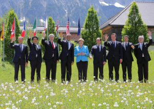 G7 Summit at Elmau Castle