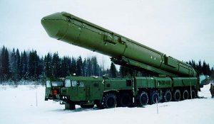 RS-24 su piattaforma di lancio mobile