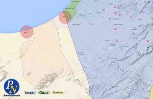 L'area dove si sono concentrati gli attacchi dell'Isis in Egitto