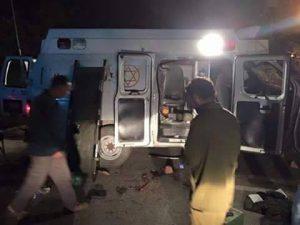 ambulanza israeliana fermata da milizie druse pro Siriane che trasportava miliziani del Califfato