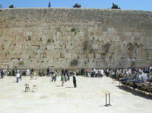 muro del pianto sopra la spianata del tempio