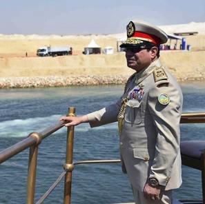 al Sisi Canale di Suez