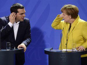 Grecia Tsipras Merkel