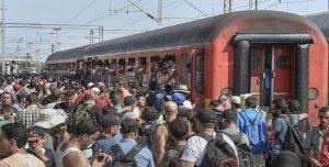 treni immigrati Austria