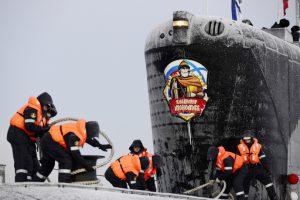 Russia sottomarino Borei