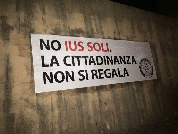 ius soli CasaPound Italia