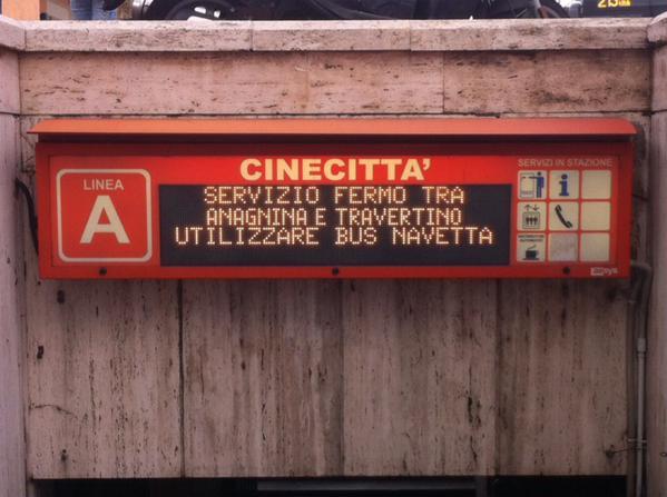 metro roma linea A