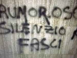 Bergamo minacce regista Foibe