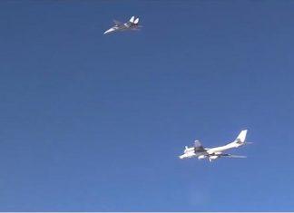 Bombardieri russi Iran