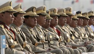 Myanmar military top brass - Hints of power struggle