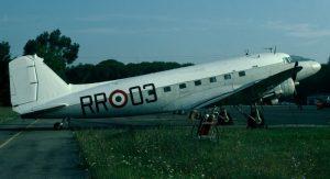 Un velivolo C47 Dakota, lo stesso modello di Argo 16