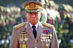 Burmese dictator Than Shwe is said to have kingly delusions.