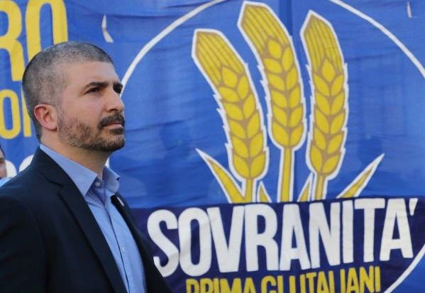 Simone Di Stefano Sovranità Prima gli italiani