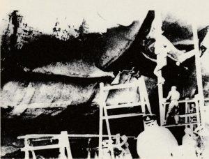 Lo squarcio sulla carena della Valiant ad opera della carica di De La Penne/Bianchi
