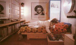 """Un poster di Beethoven nella stanza di """"Alex"""" in Arancia Meccanica"""