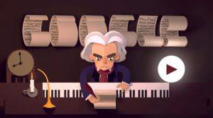 Il doodle su Beethoven