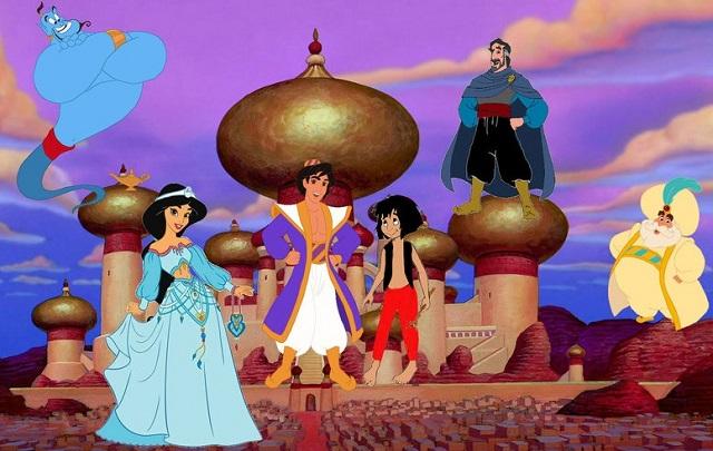 Agrabah la città del cartone animato aladdin per gli
