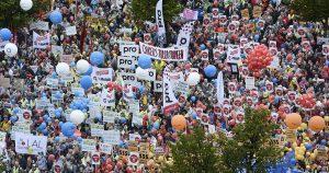 finlandia lavoratori proteste