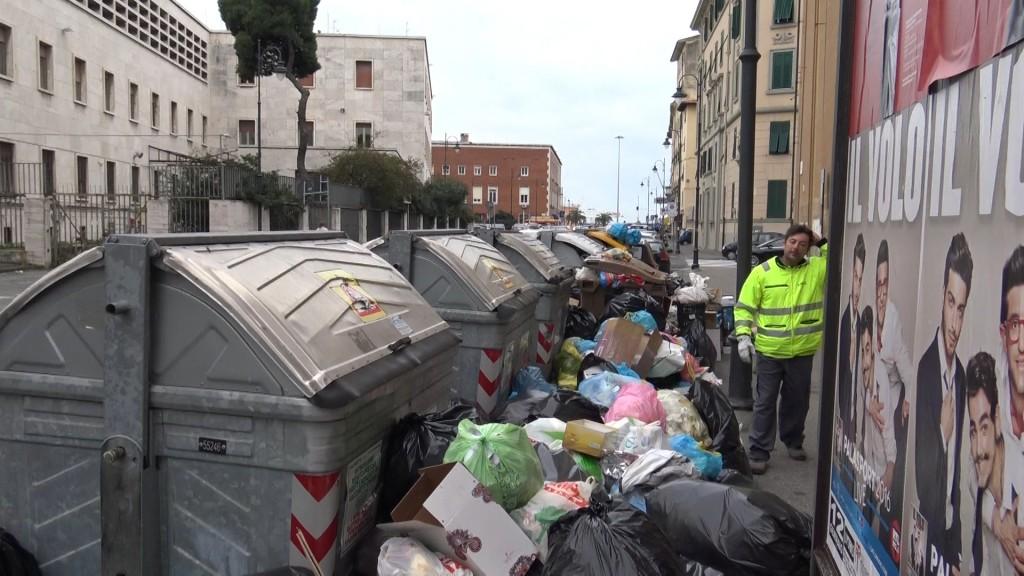 livorno rifiuti